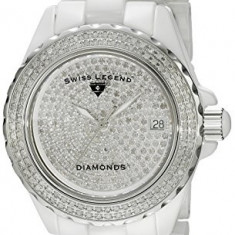 Swiss Legend Women's 20052-WWTS Karamica Diamonds | 100% original, import SUA, 10 zile lucratoare af22508 - Ceas dama Swiss Legend, Analog