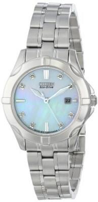 Citizen Women's EW1930-50D Diamonds Analog Display   100% original, import SUA, 10 zile lucratoare af22508 foto