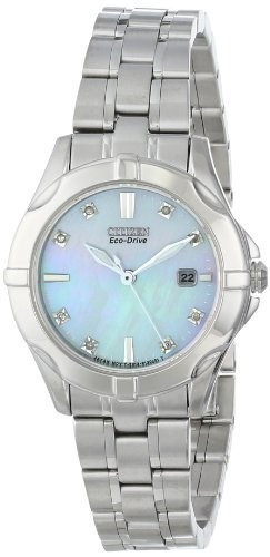 Citizen Women's EW1930-50D Diamonds Analog Display | 100% original, import SUA, 10 zile lucratoare af22508 foto mare