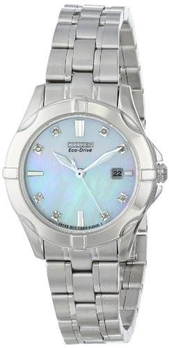 Citizen Women's EW1930-50D Diamonds Analog Display   100% original, import SUA, 10 zile lucratoare af22508 foto mare