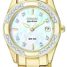 CITIZEN ECO-DRIVE Women's EW1822-52D Regent Gold | 100% original, import SUA, 10 zile lucratoare af22508 - Ceas dama Citizen, Analog