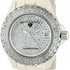 Swiss Legend Women's 20052-BGWFS Karamica Diamonds | 100% original, import SUA, 10 zile lucratoare af22508 - Ceas dama Swiss Legend, Elegant, Analog