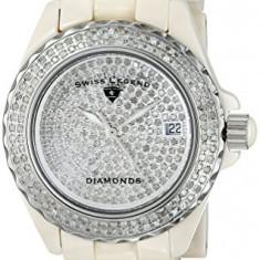 Swiss Legend Women's 20052-BGWFS Karamica Diamonds | 100% original, import SUA, 10 zile lucratoare af22508 - Ceas dama Swiss Legend, Elegant, Analog