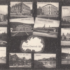 ROMANIA CARTE POSTALA, VATRA DORNEI-BAI, LOT 1 CP - Carte Postala Moldova dupa 1918, Necirculata, Printata