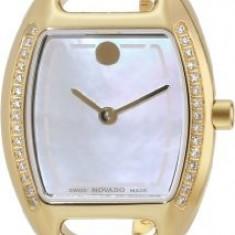 Movado Women's 0606609 Miri Gold-Plated Stainless | 100% original, import SUA, 10 zile lucratoare af22508 - Ceas dama Movado, Elegant, Quartz, Analog