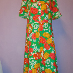 Rochie vintage imprimeu floral - Moschino - Haine vintage