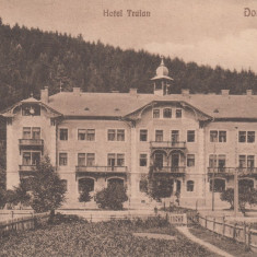 ROMANIA CARTE POSTALA DORNA-VATRA, HOTEL TRAIAN, LOT 1 CP - Carte Postala Bucovina dupa 1918, Necirculata, Printata