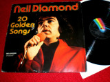 Neil Diamond - 20 Golden Songs (1975, MCA) Disc vinil LP original