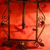 Rama pt. Fotografie , din bronz , inc.sec.XX , dim. 18x 24 cm