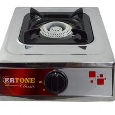 Aragaz pe gaz Ertone ERT-MN 201, inox, 1 arzator, GPL - Aragaz/Arzator camping