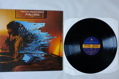 The Alan Parsons Project - Pyramid (1978, Arista) Disc vinil album original foto