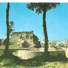 CPI (B5411) CARTE POSTALA - SUCEAVA. RUINILE CETATII - Carte Postala Bucovina dupa 1918, Circulata, Fotografie
