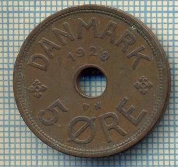 6471 MONEDA - DANEMARCA (DANMARK) - 5 ORE - ANUL 1929 -starea care se vede foto