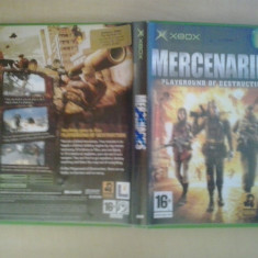 Mercenaries - Joc XBox classic ( Compatibil XBox 360 )(GameLand) - Jocuri Xbox, Shooting, 16+, Single player