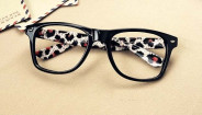 123123Rame ochelari model DESIGNER FASHION animal print design