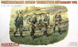 + kit 1/35 Dragon 6124 - Panzergrenadier Division Grossdeutschland 43 +