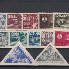 ROMANIA 1945, LP 181, 181a, 182 AGIR, MNH, LOT O RO - Timbre Romania, Nestampilat