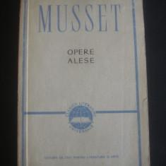 ALFRED DE MUSSET - OPERE ALESE - Carte Teatru