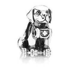 Talisman Pandora Silver Mountain Dog - 636 - Pandantiv argint