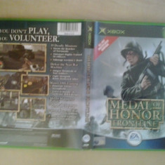 Medal of Honor Frontline - Joc XBox classic (Compatibil XBOX 360 ) ( GameLand ) - Jocuri Xbox, Shooting, 16+, Multiplayer