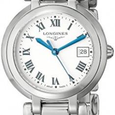 Longines Women's LNG81124716 PrimaLuna Silver Dial | 100% original, import SUA, 10 zile lucratoare af22508 - Ceas dama Longines, Elegant, Quartz, Analog