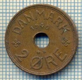 6506 MONEDA - DANEMARCA (DANMARK) - 2 ORE - ANUL 1940 -starea care se vede foto