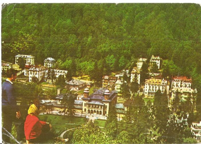 CPI (B5412) CARTE POSTALA - VEDERE DIN SLANIC MOLDOVA foto mare