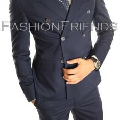 Costum tip ZARA - sacou + pantaloni - costum barbati casual office  - 5003