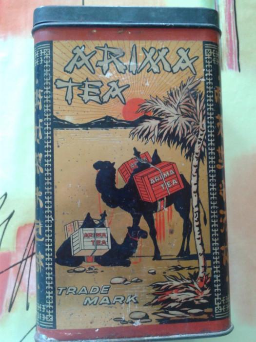 cutie originala ceai din CHINA 1929 de 1kg foto mare