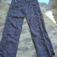 Pantaloni TRUSSARDI 100% in megapret PANA LA 1.02 - Pantaloni dama Trussardi, Marime: 46, Culoare: Maro, Lungi