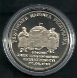 UCRAINA  2  HRIVNE  1998 [1]  80  ANI - DECLARAREA  INDEPENDENTEI  ,  UNC, Europa, Cupru-Nichel