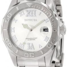 Invicta Women's 12851 Pro Diver Silver | 100% original, import SUA, 10 zile lucratoare af22508 - Ceas dama Invicta, Casual, Mecanic-Automatic, Analog