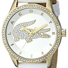 Lacoste Women's 2000820 Victoria Gold-Tone Stainless   100% original, import SUA, 10 zile lucratoare af22508, Casual, Quartz, Analog