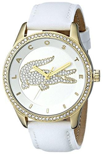 Lacoste Women's 2000820 Victoria Gold-Tone Stainless   100% original, import SUA, 10 zile lucratoare af22508