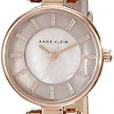 Anne Klein Women's AK 1950RGTP Rose | 100% original, import SUA, 10 zile lucratoare af22508 - Ceas dama Anne Klein, Elegant, Quartz, Analog