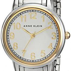 Anne Klein Women's AK 1911SVTT Easy | 100% original, import SUA, 10 zile lucratoare af22508 - Ceas dama Anne Klein, Elegant, Quartz, Analog