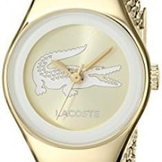 Lacoste Women's 2000876 Valencia Mini Gold-Tone   100% original, import SUA, 10 zile lucratoare af22508, Casual, Quartz, Analog