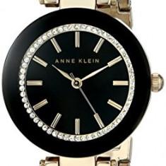 Anne Klein Women's AK 1906BKGB Swarovski   100% original, import SUA, 10 zile lucratoare af22508 - Ceas dama Anne Klein, Analog
