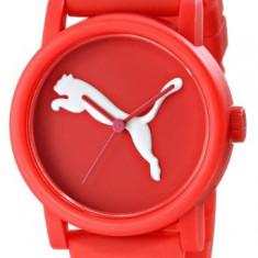 PUMA Women's PU103682002 Big Cat Red | 100% original, import SUA, 10 zile lucratoare af22508 - Ceas dama Puma, Sport, Quartz, Silicon, Analog