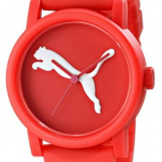 PUMA Women's PU103682002 Big Cat Red | 100% original, import SUA, 10 zile lucratoare af22508 - Ceas dama Puma, Sport, Quartz, Silicon, Analog