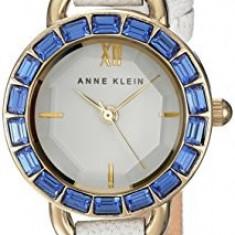 Anne Klein Women's AK 1676BLWT Blue | 100% original, import SUA, 10 zile lucratoare af22508 - Ceas dama Anne Klein, Elegant, Analog