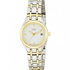 Citizen Women's EW1264-50A Eco-Drive Silhouette Two-Tone | 100% original, import SUA, 10 zile lucratoare af22508 - Ceas dama Citizen, Elegant, Analog