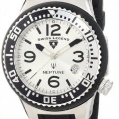 Swiss Legend Women's 11044P-02S-SLB Neptune Silver   100% original, import SUA, 10 zile lucratoare af22508 - Ceas dama Swiss Legend, Casual, Quartz, Analog