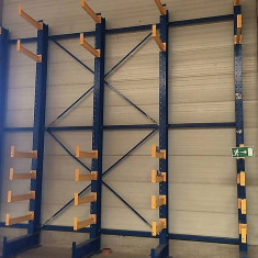 Rafturi cantilever import Germania, second hand, - Raft/Etajera