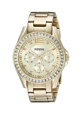 Fossil Women's ES3203 Riley Multifunction Gold-Tone | 100% original, import SUA, 10 zile lucratoare af22508 foto