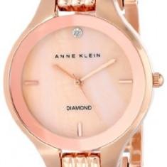 Anne Klein Women's AK 1488RMRG Diamond | 100% original, import SUA, 10 zile lucratoare af22508 - Ceas dama Anne Klein, Analog
