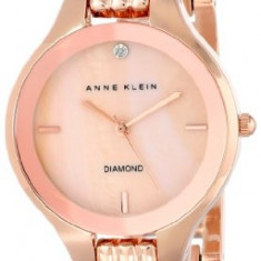Anne Klein Women's AK 1488RMRG Diamond | 100% original, import SUA, 10 zile lucratoare af22508 - Ceas dama Anne Klein, Elegant, Quartz, Analog