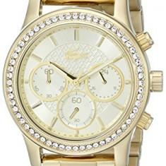 Lacoste Women's 2000835 Charlotte Gold-Tone Watch   100% original, import SUA, 10 zile lucratoare af22508, Casual, Quartz, Analog