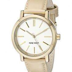 Nine West Women's NW 1706WTNT Gold-Tone | 100% original, import SUA, 10 zile lucratoare af22508 - Ceas dama Nine West, Casual, Quartz, Analog