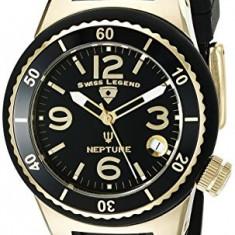 Swiss Legend Women's 11840P-YG-01 Neptune Black | 100% original, import SUA, 10 zile lucratoare af22508 - Ceas dama Swiss Legend, Casual, Quartz, Analog